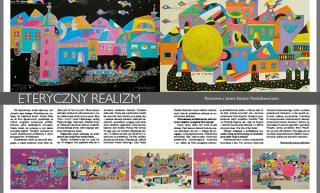 """The interview """"Ethereal realism"""" with Jan Kanty Pawluśkiewicz for the """"Świat achitektury"""" Magazine"""